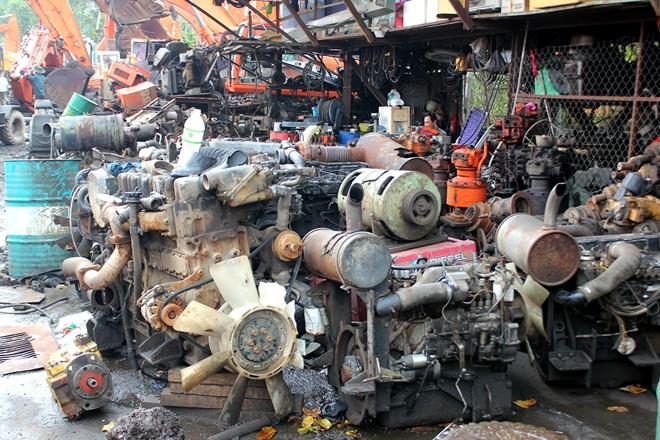 Thu mua máy móc thiết bị cơ khí cũ khu vực Đồng Nai